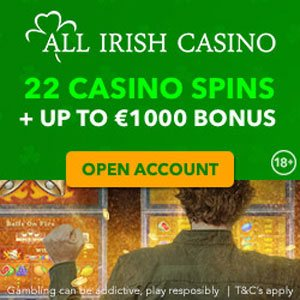 All Irish Casino Best New Casino